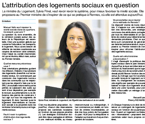 sylvia pinel ouest-france 23.02.2015